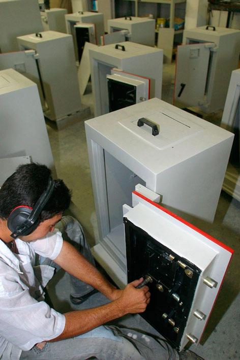 Manutenção de cofres