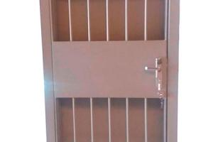 Porta de segurança blindada